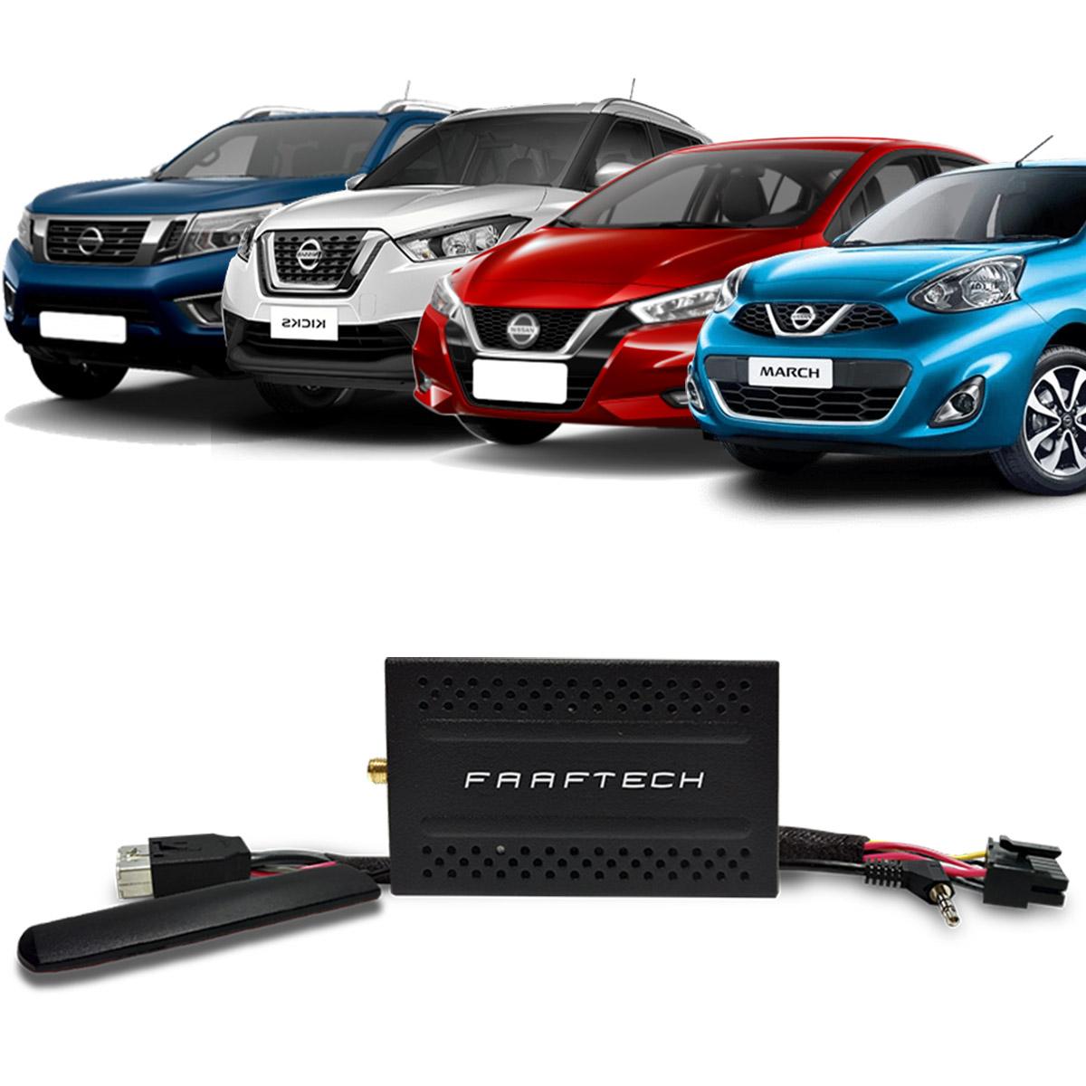 Desbloqueio De Multimidia com TV Digital 1SEG Faaftech Nissan FT-VF-NS3-1SEG