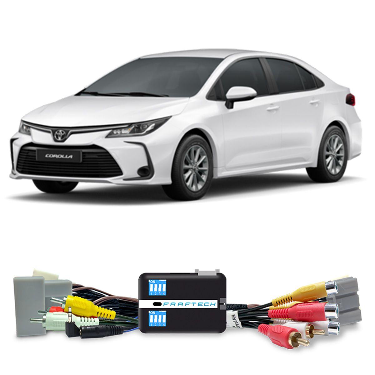 Desbloqueio de Multimidia Toyota Corolla Hilux SW4 2020 RAV4 2020 Faaftech FT-VF-TY5