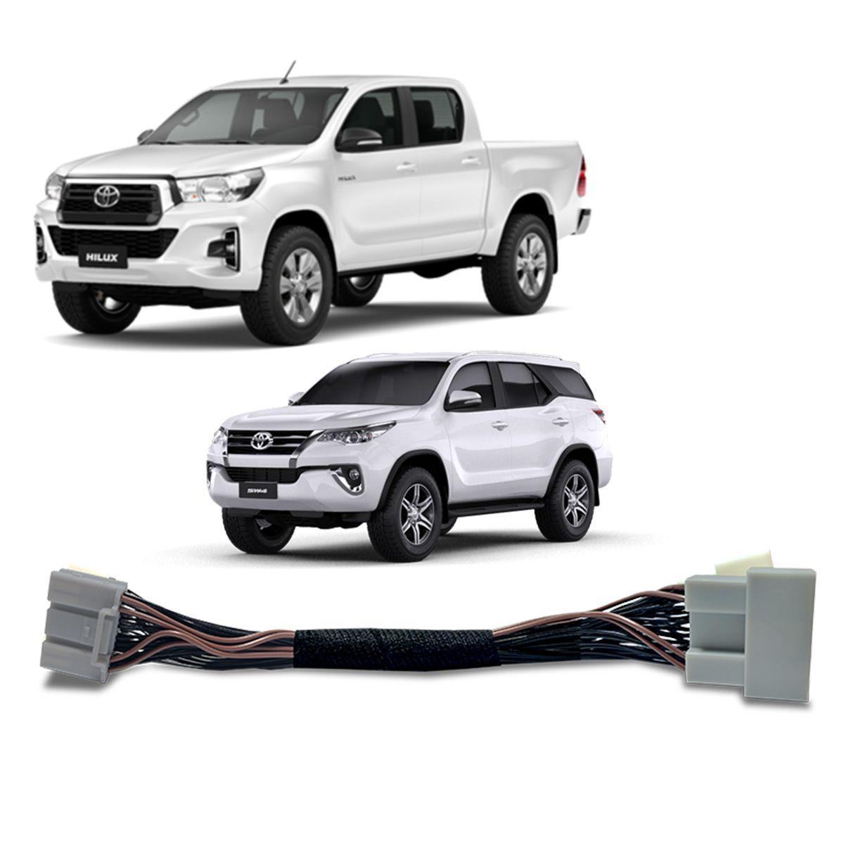 Desbloqueio de Multimidia Toyota Hilux e SW4 2020 em diante Faaftech FT VF TY4
