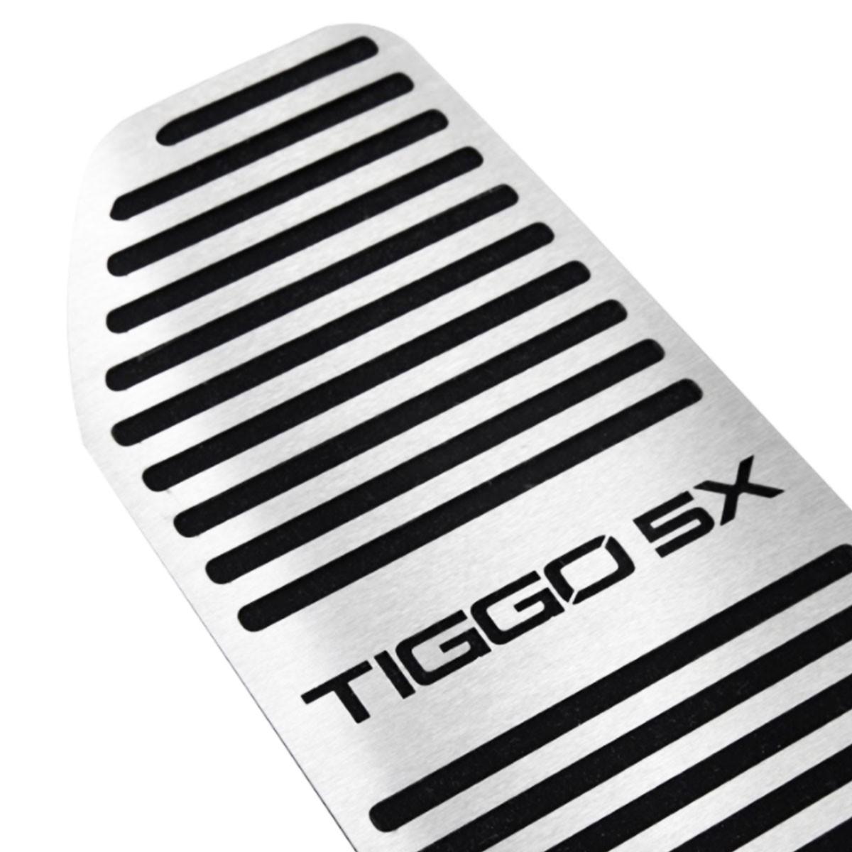 Descanso de Pé Chery Tiggo 5X Aço Inox Escovado