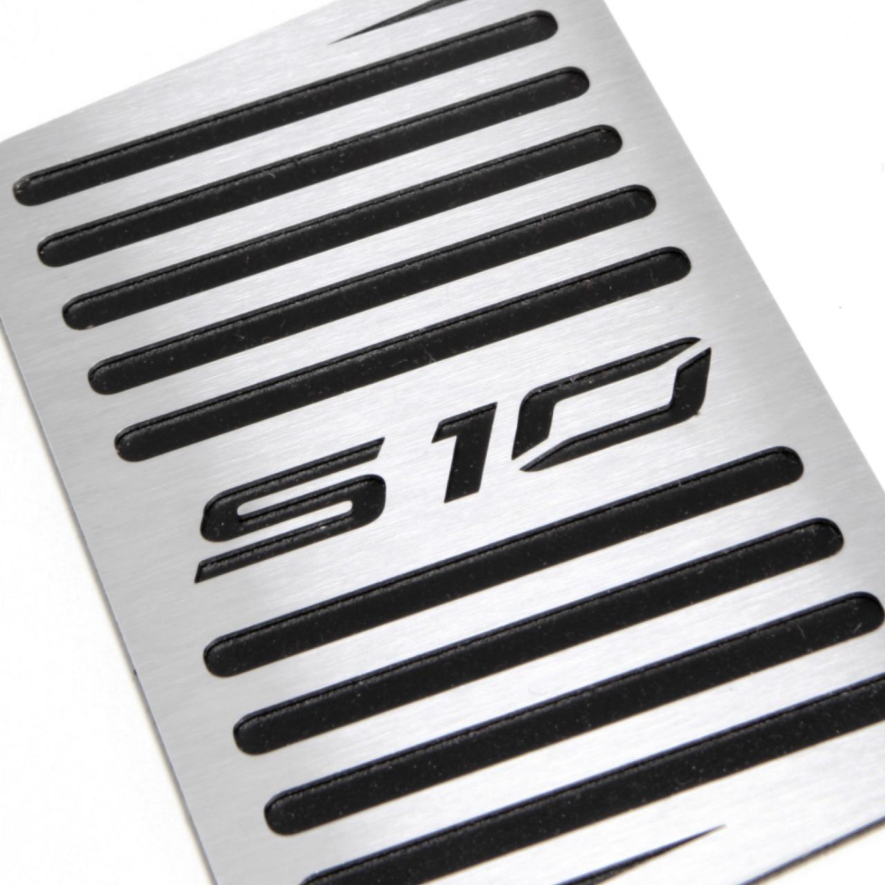 Descanso de Pé Chevrolet S10 Aço Inox Escovado