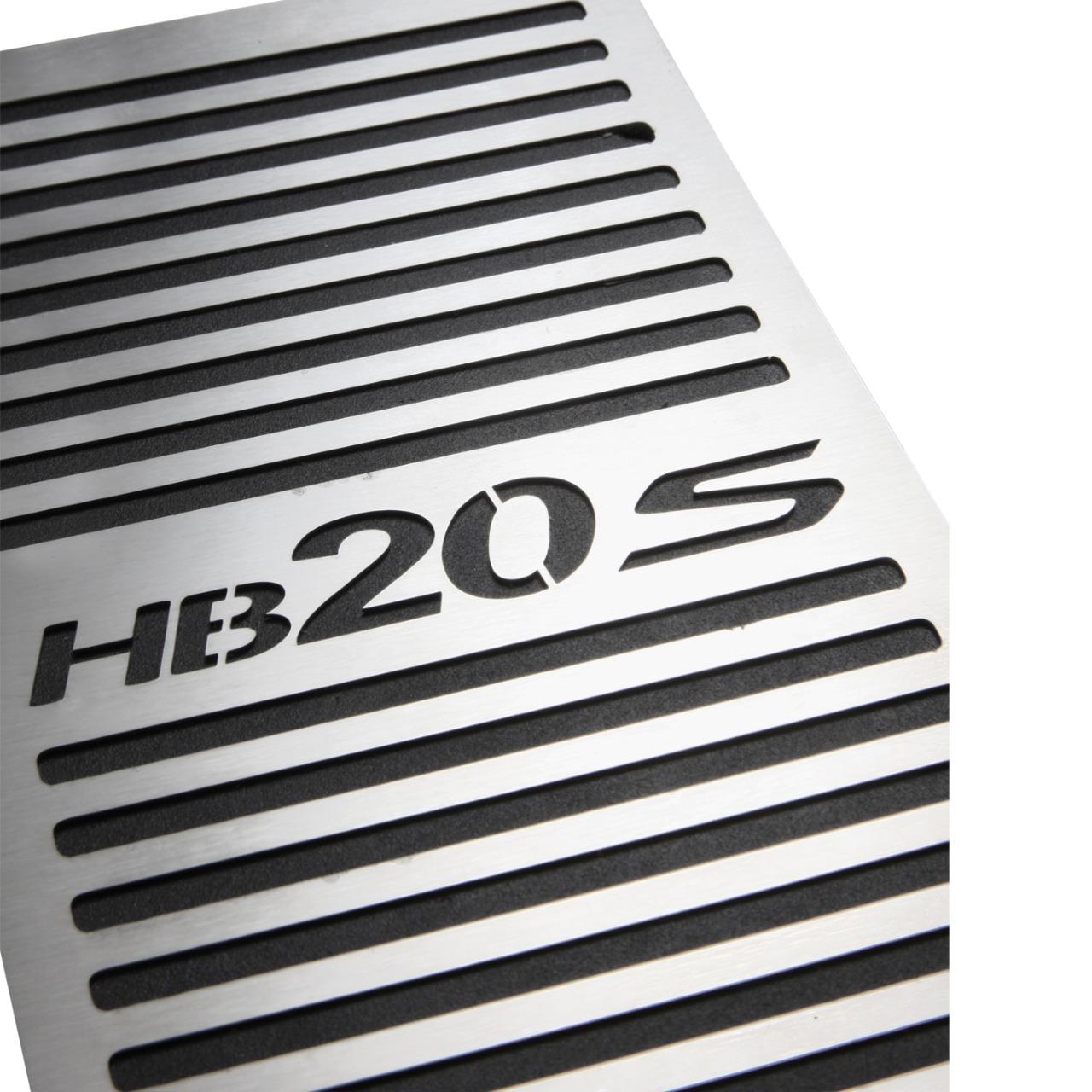 Descanso de Pé Hyundai Hb20S Aço Inox Escovado