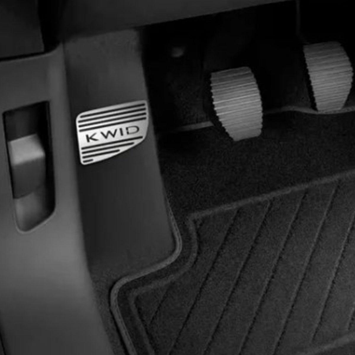 Descanso de Pé Renault kwid Aço Inox Escovado