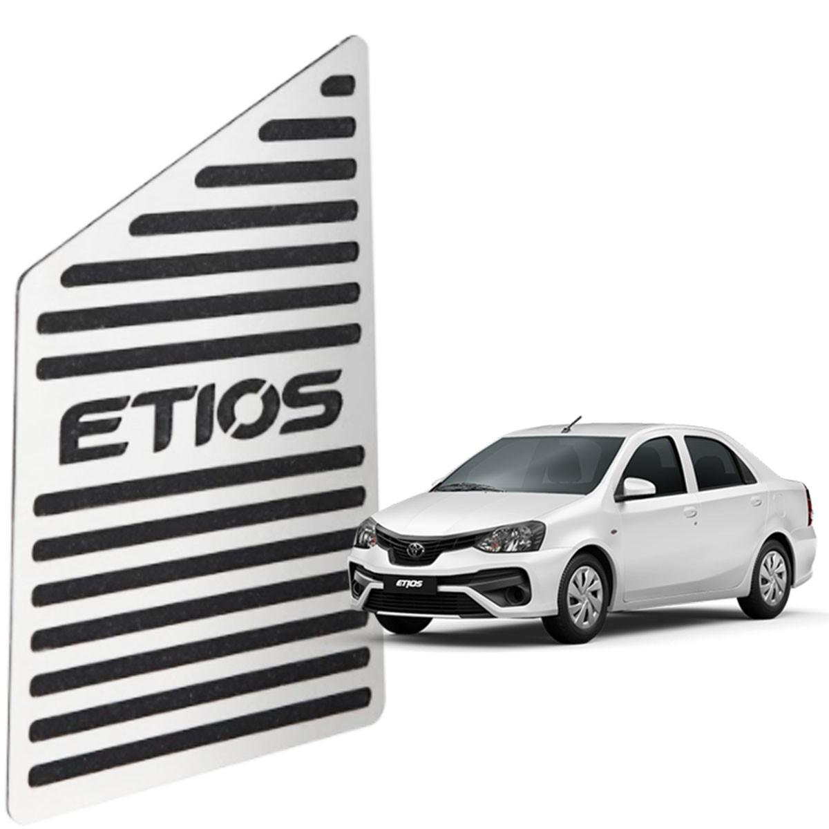 Descanso de Pé Toyota Etios Aço Inox Escovado