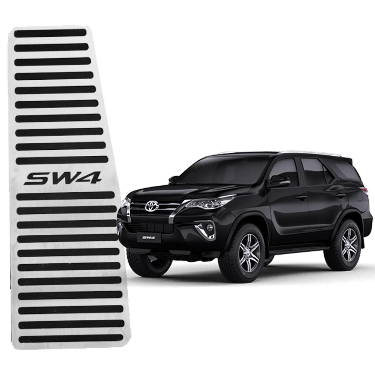 Descanso de Pé Toyota SW4 Aço Inox Escovado