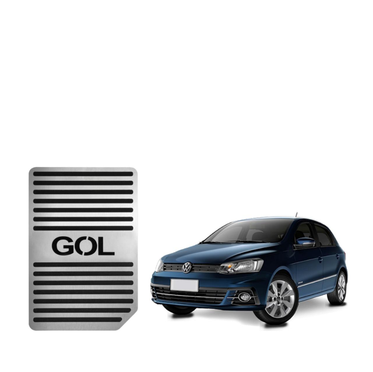 Descanso de Pé Volkswagen Gol Aço Inox Escovado