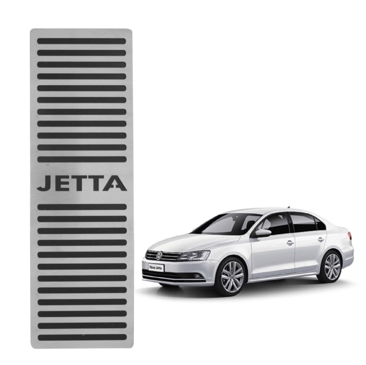 Descanso de Pé Volkswagen Jetta 2011 á 2018 Aço Inox Escovado