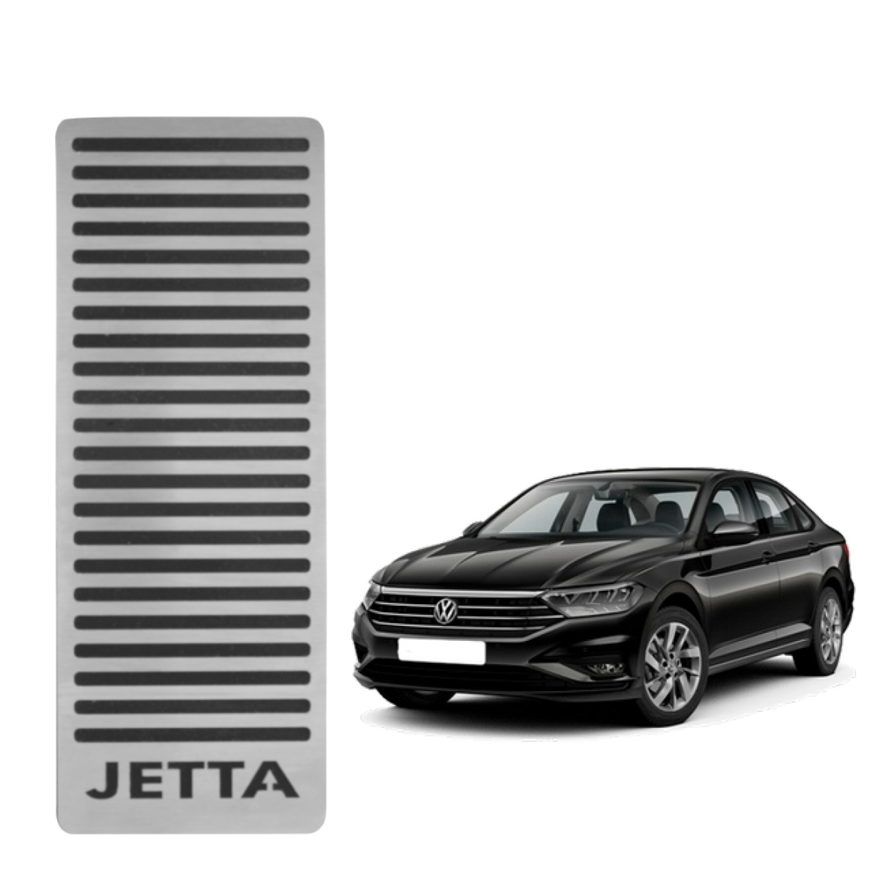 Descanso de Pé Volkswagen Jetta 2019 em diante Aço Inox Escovado