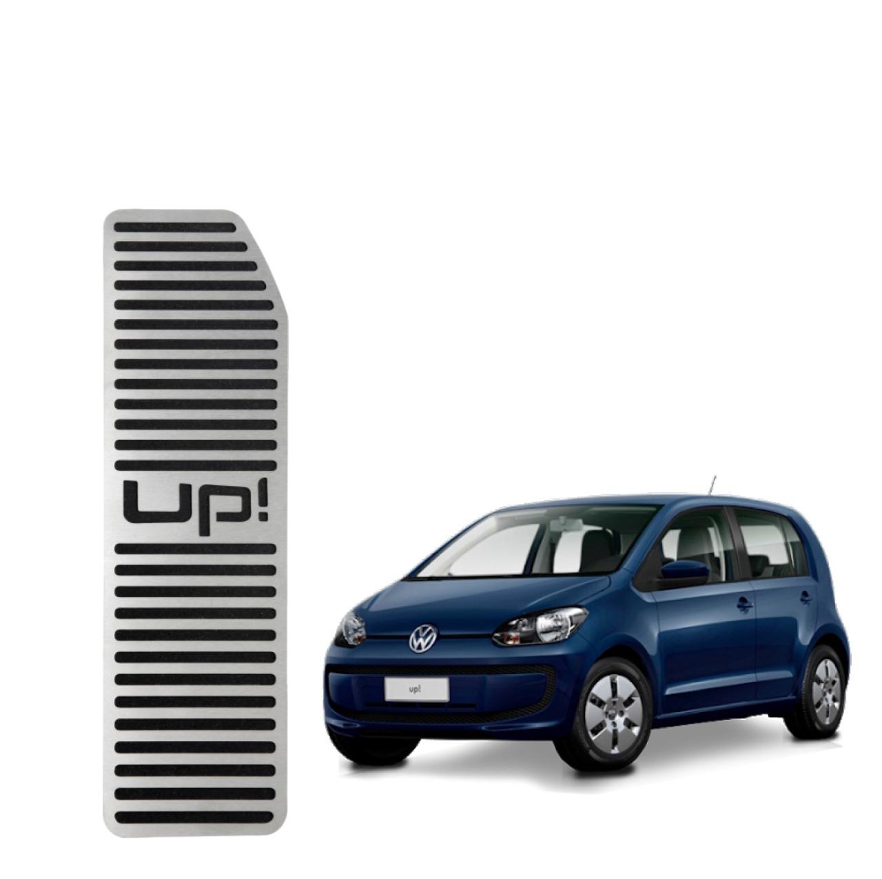 Descanso de Pé Volkswagen Up Aço Inox Escovado