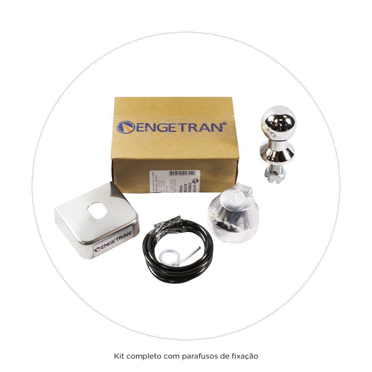 Engate Reboque Fiesta Hatch Fixo Trail Supercharger e Class