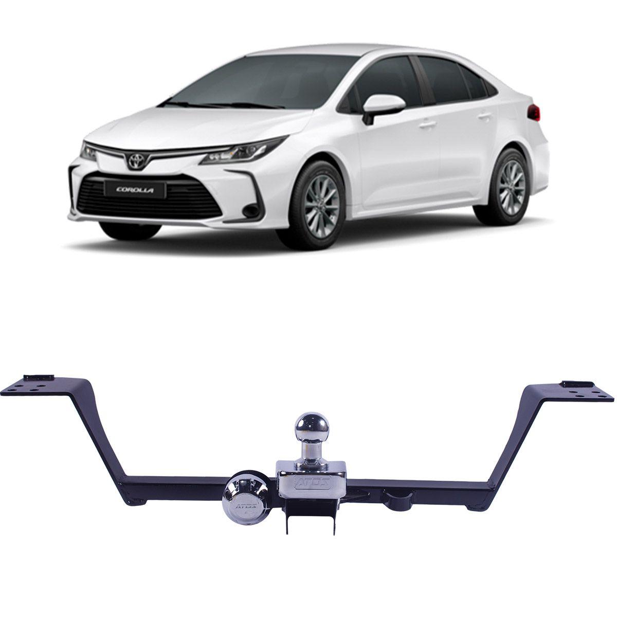 Engate Reboque Toyota Corolla 2020 em Diante Fixo Atos