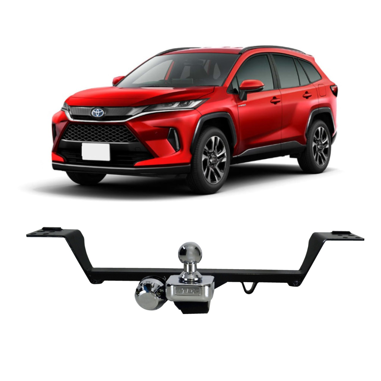 Engate Reboque Toyota Corolla Cross 2021 em Diante Fixo Atos AT-6004