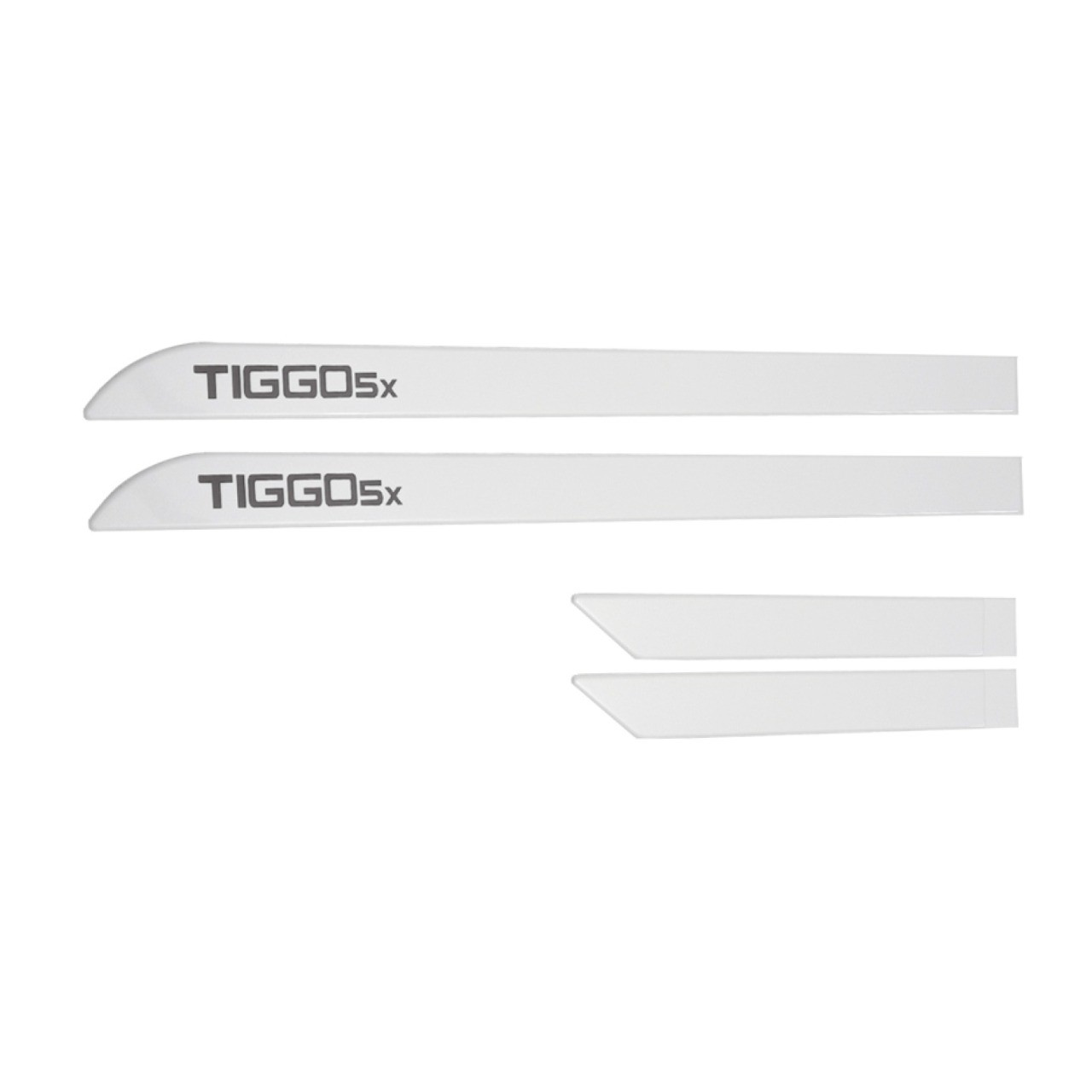 Friso Lateral Chery Tiggo 5X Branco Perolizado Personalizado