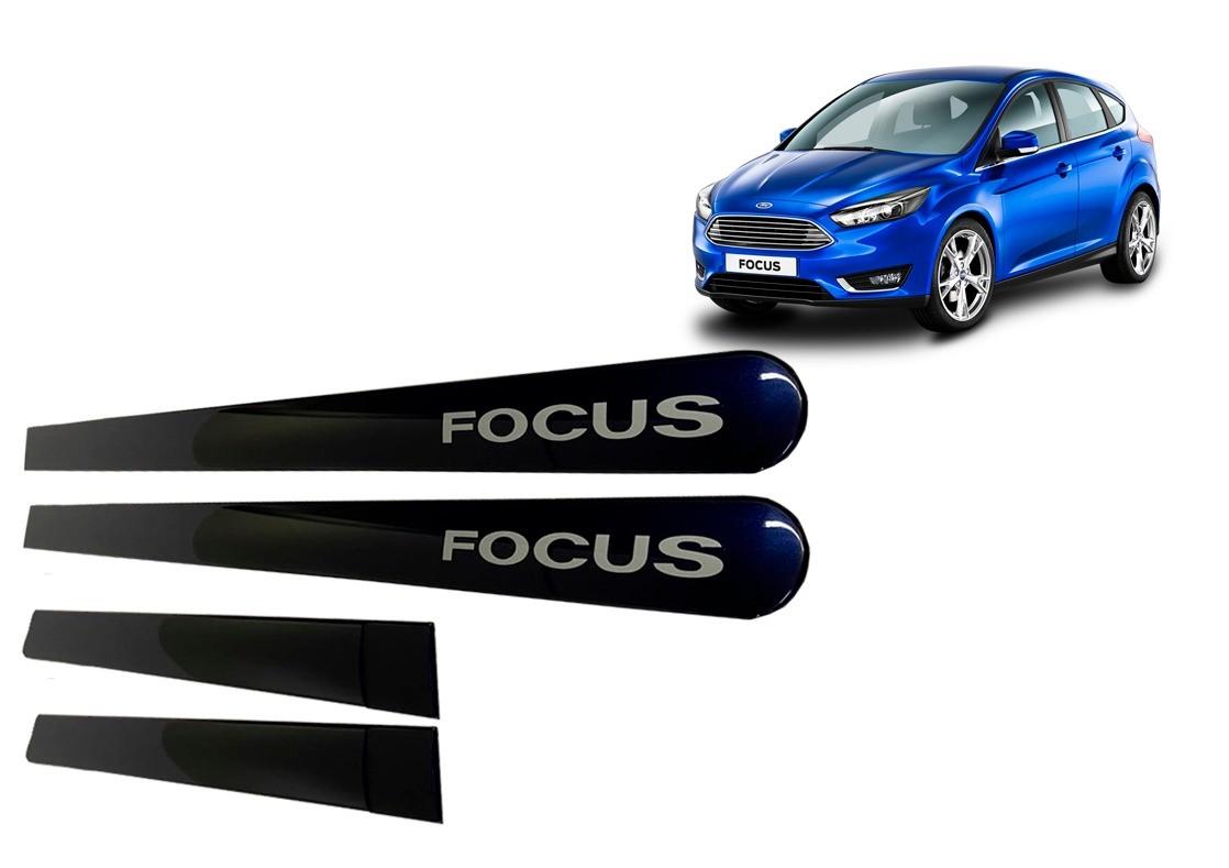 Friso Lateral Ford Focus Azul Mónaco Personalizado Kitoplastic