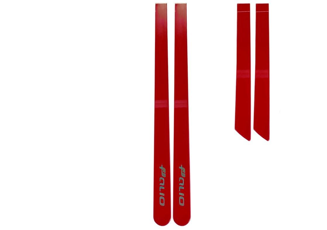 Friso Lateral Novo Palio Personalizado Vermelho Moderna