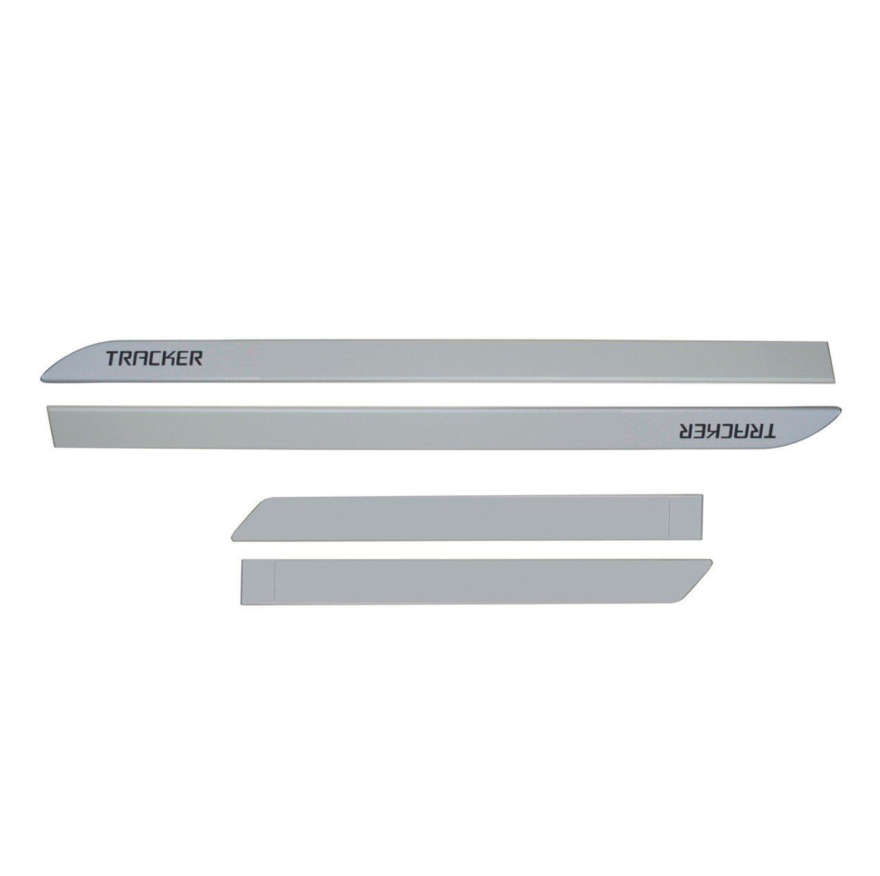 Friso Lateral Tracker Prata Switchblade Personalizado
