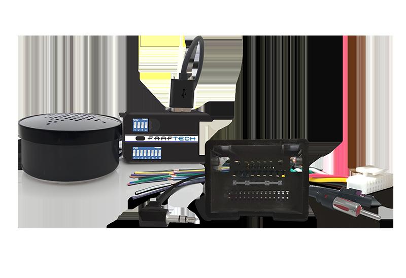 Interface de Volante Plug and Play FT SW GM Linha GM