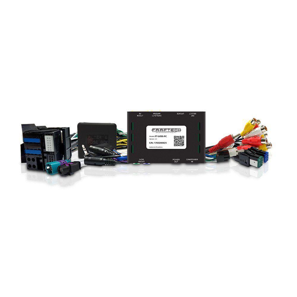 Interface Desbloqueio de Tela Citroen e Pegeout Faaftech FT-LVDS-PC