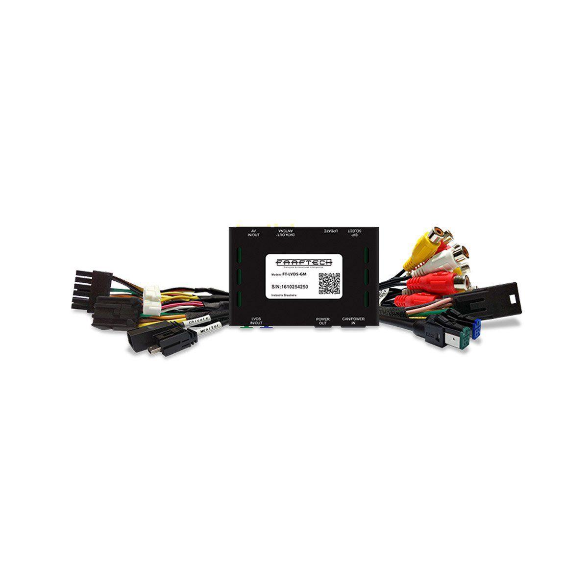 Interface de Vídeo Cruze Equinox S10 e Trailblazer Faaftech FT-LVDS-GM