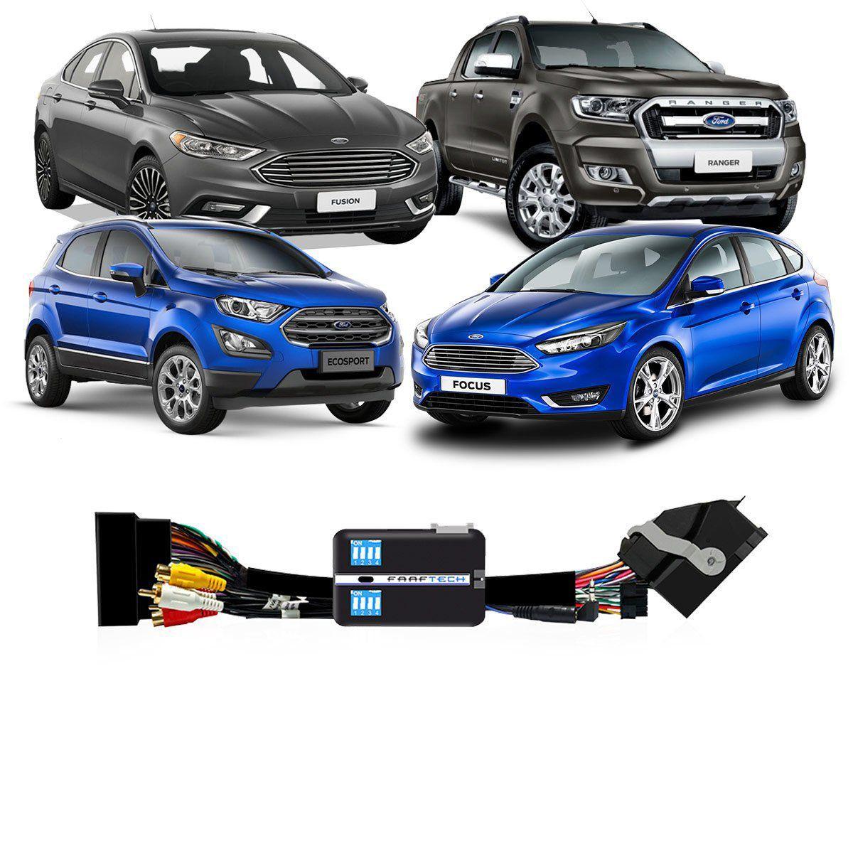 Desbloqueio De Multimídia Faaftech Ford Ecosport e Fiesta Focus Fusion Ranger e Edge FT-VF-FRD4