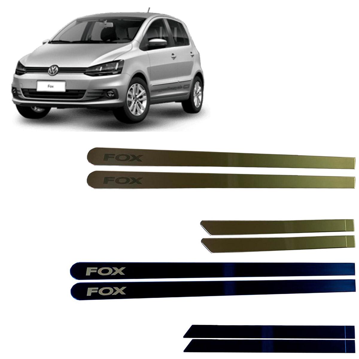 Jogo Friso Lateral Volkswagen Fox Personalizado