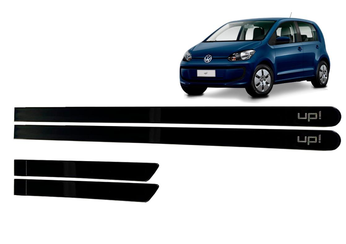 Jogo Friso Lateral VW UP Azul Night Personalizado