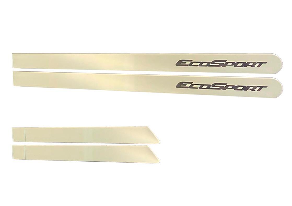 Jogo Lateral Personalizado Ecosport Branco Vanilla