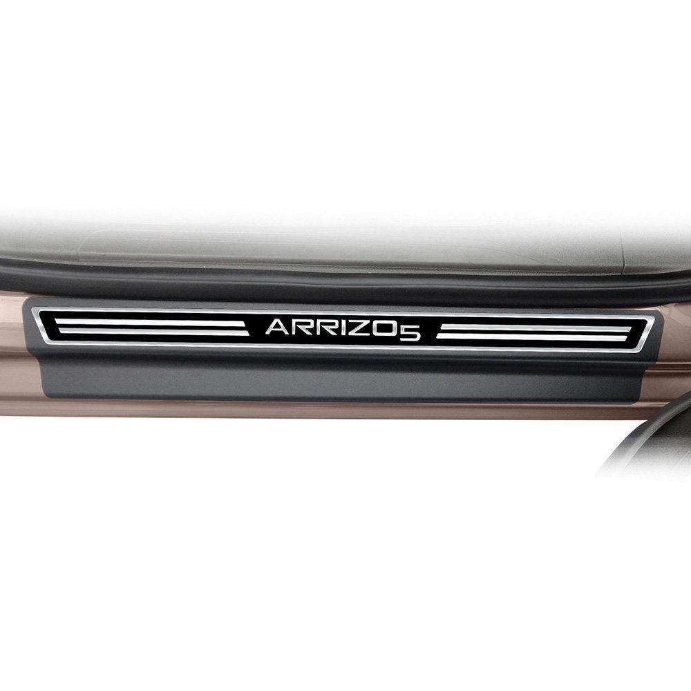 Soleira Resinada Premium Elegance + Descanso de Pé + Pedaleira em Aço Inox Arrizo 5