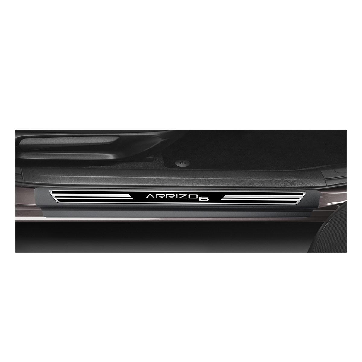 Soleira Resinada Premium Elegance + Descanso de Pé + Pedaleira em Aço Inox Arrizo 6