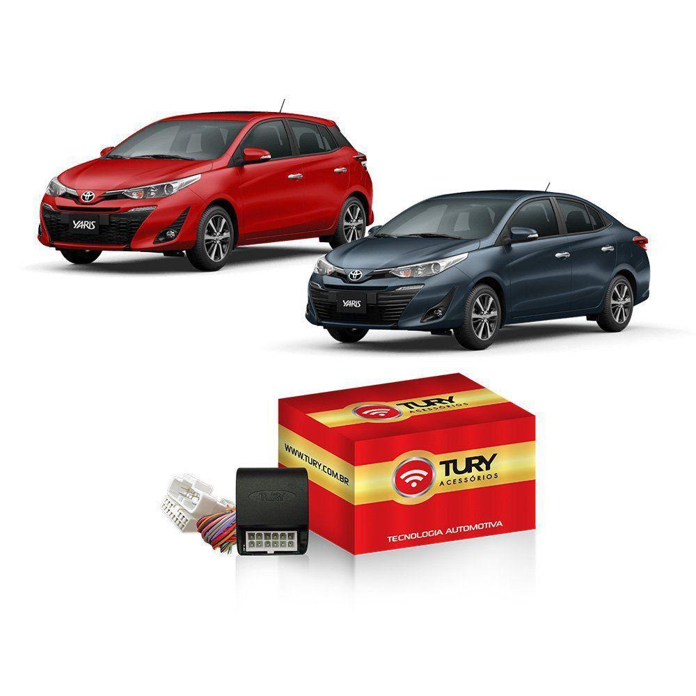 Módulo de Vidro Elétrico + Rebatimento de Retrovisor + Teto Solar para Toyota Yaris Tury
