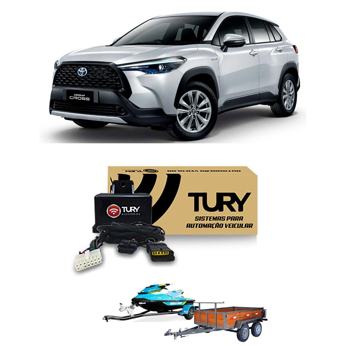 Kit Eletrico para Engate Corolla Cross 2021 em diante - CONNECT1O