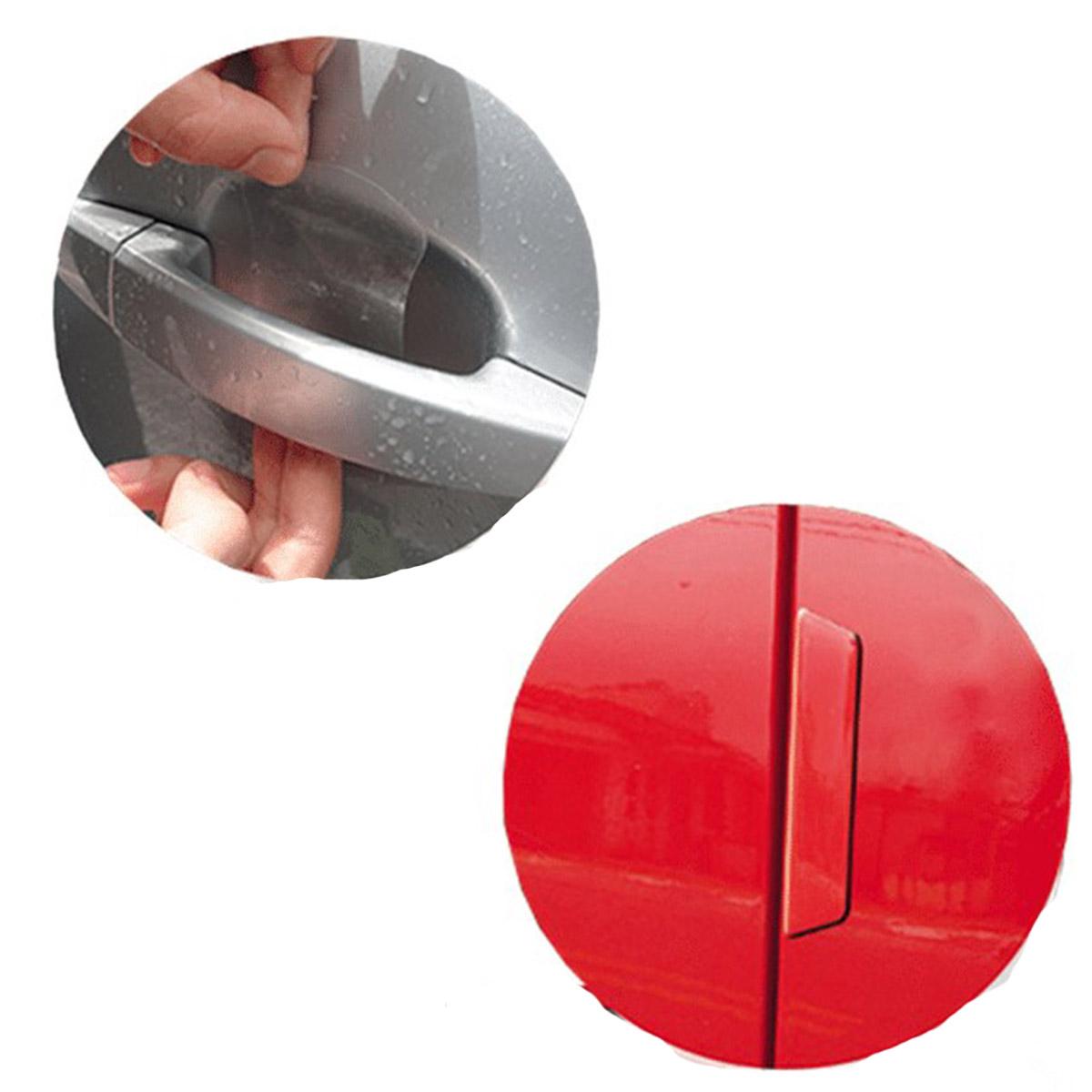 Kit Protetor de Porta e Maçaneta Universal Transparente Tamanho M