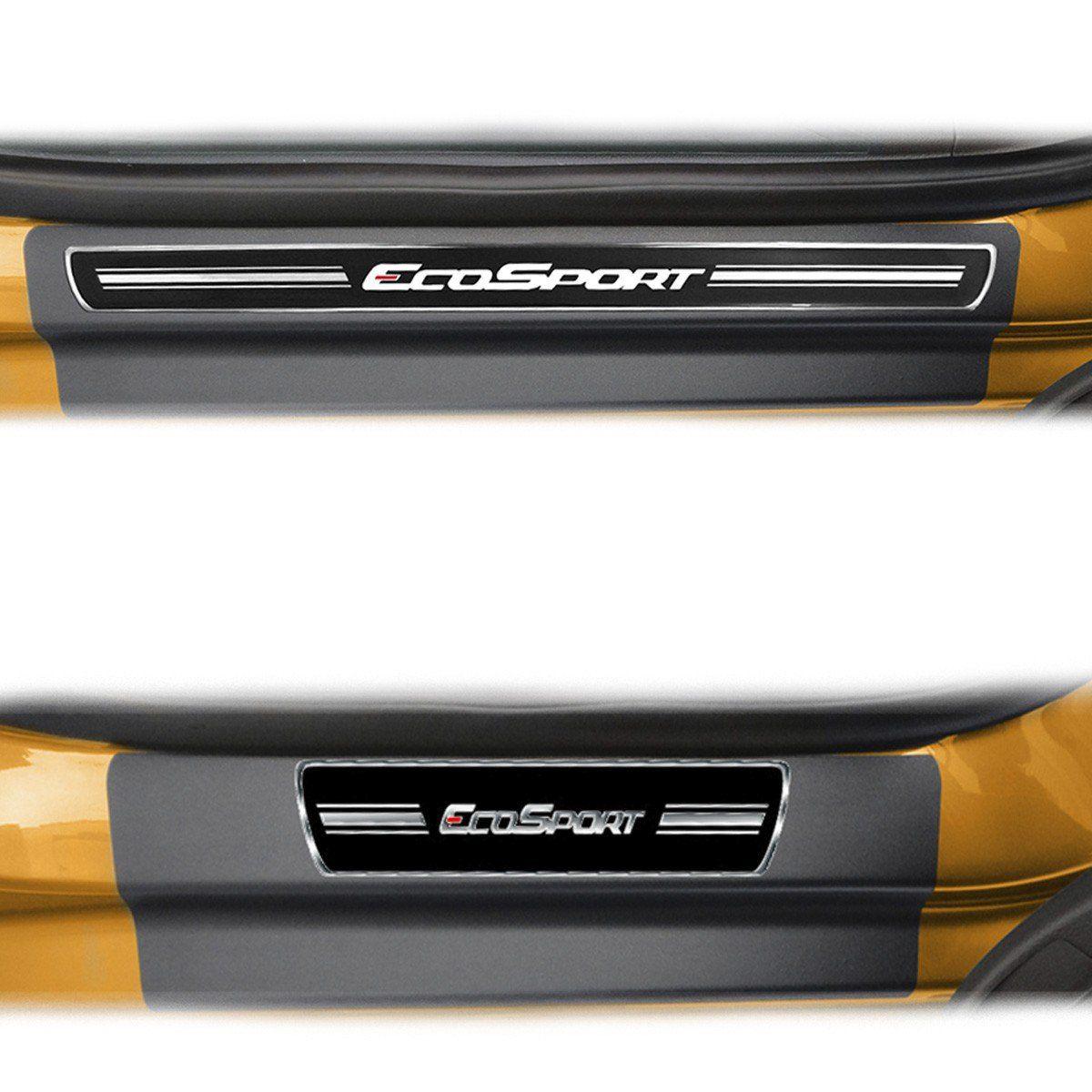 Soleira Porta Ecosport 2013 em diante Resinada Premium Elegance