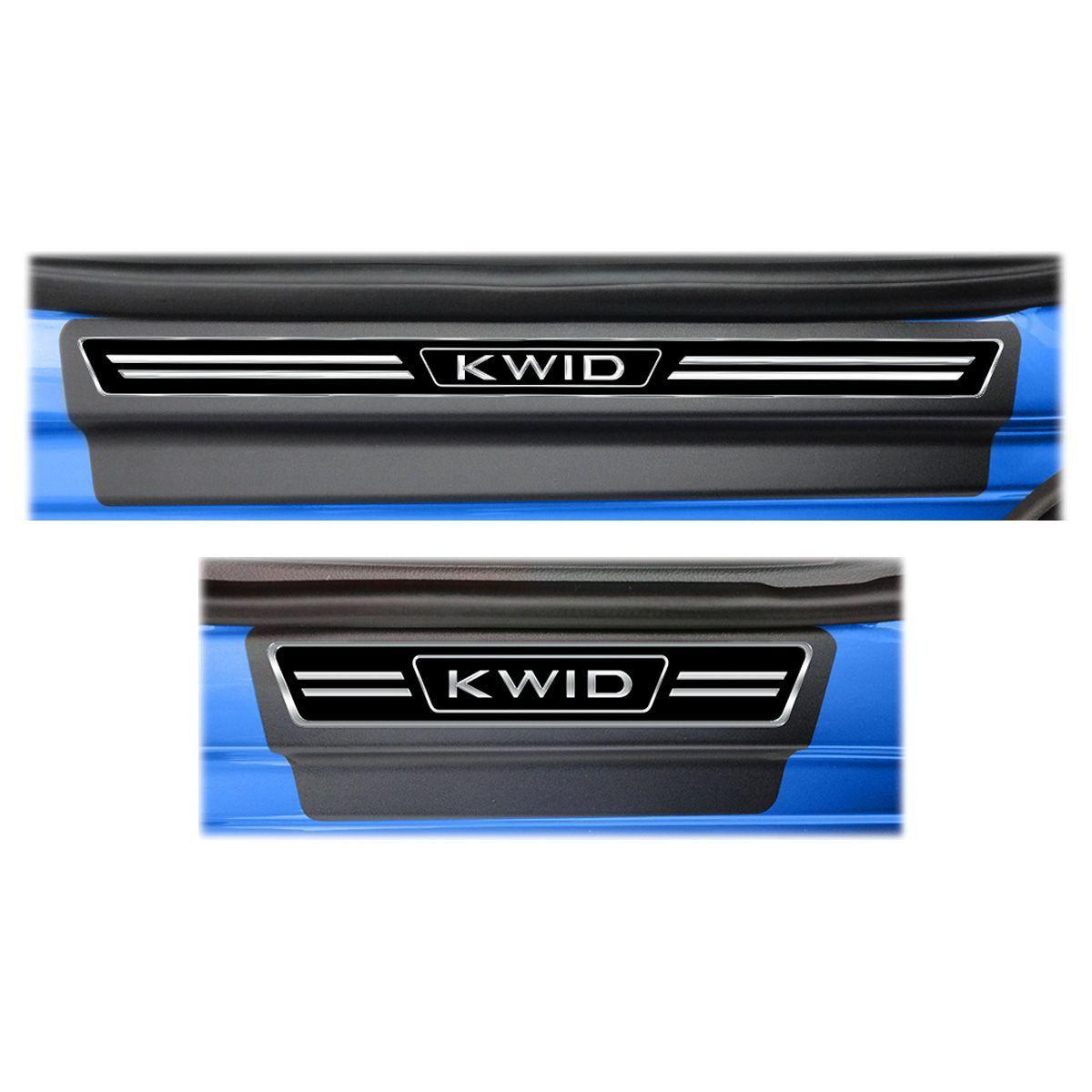 Soleira Porta Kwid Resinada Premium Elegance