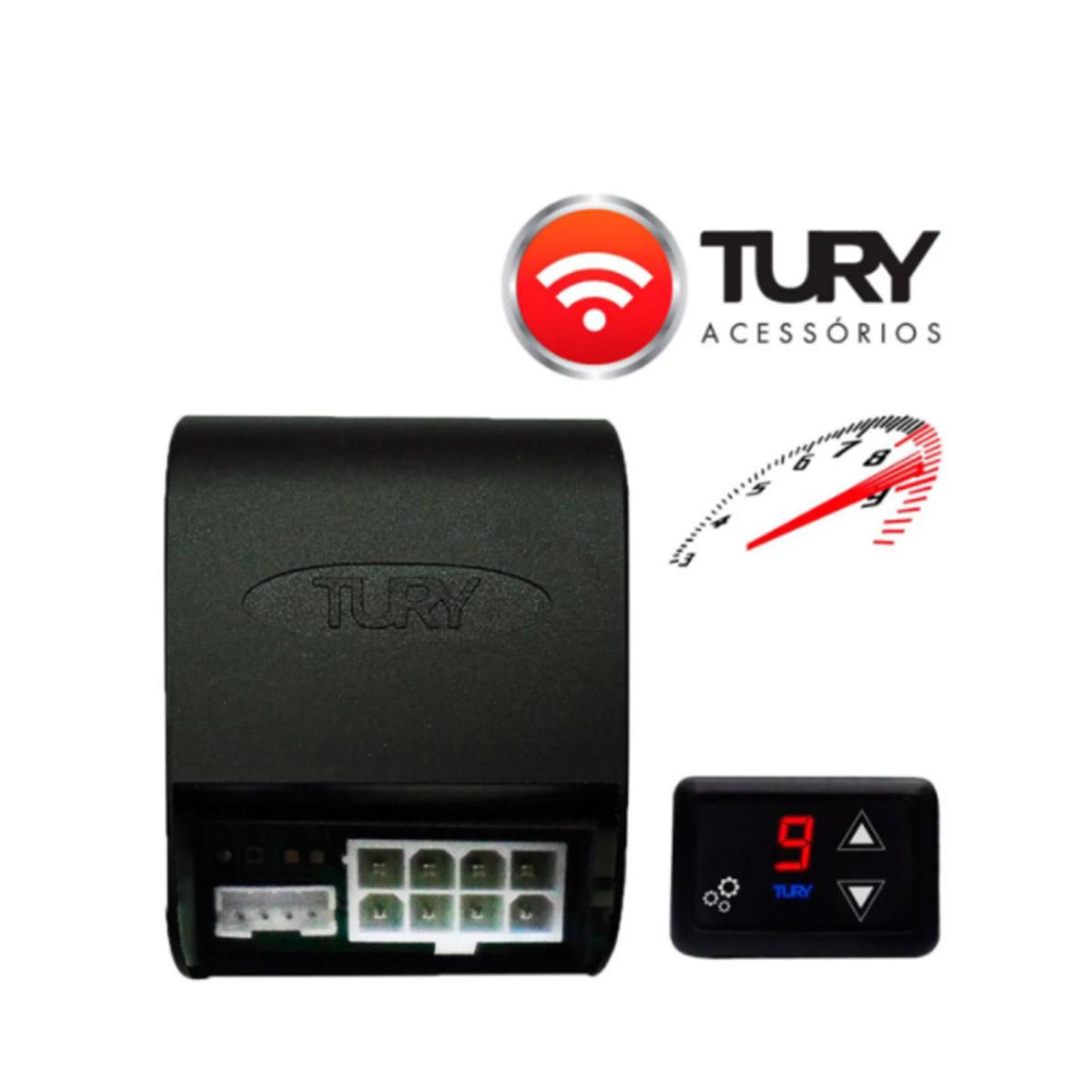 Chip Acelerador Eletrônico com Bluetooth Pedal Delay Tury Fast FAST2.0Z