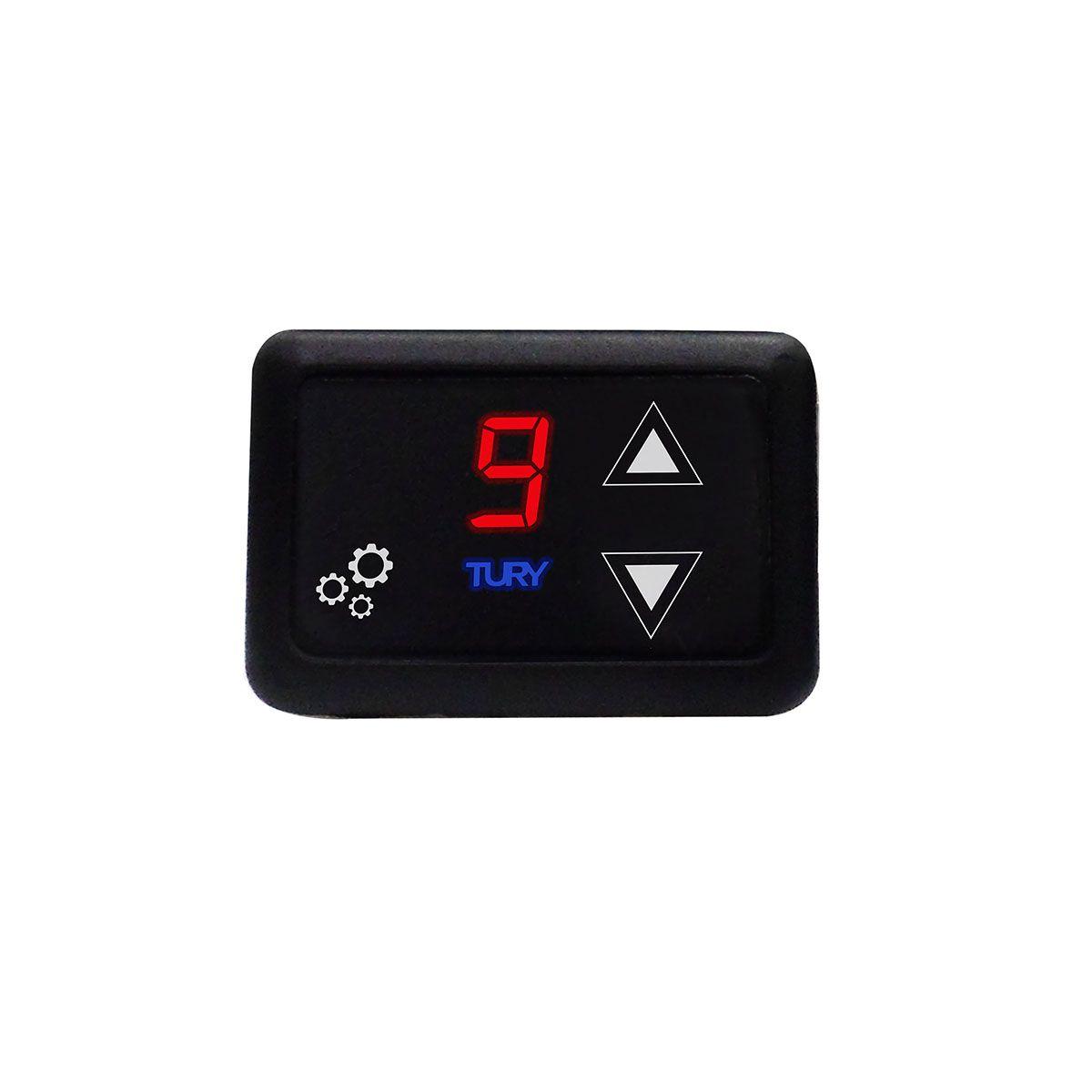 Chip Acelerador Eletrônico com Bluetooth Pedal Delay Tury Fast FAST2.0D
