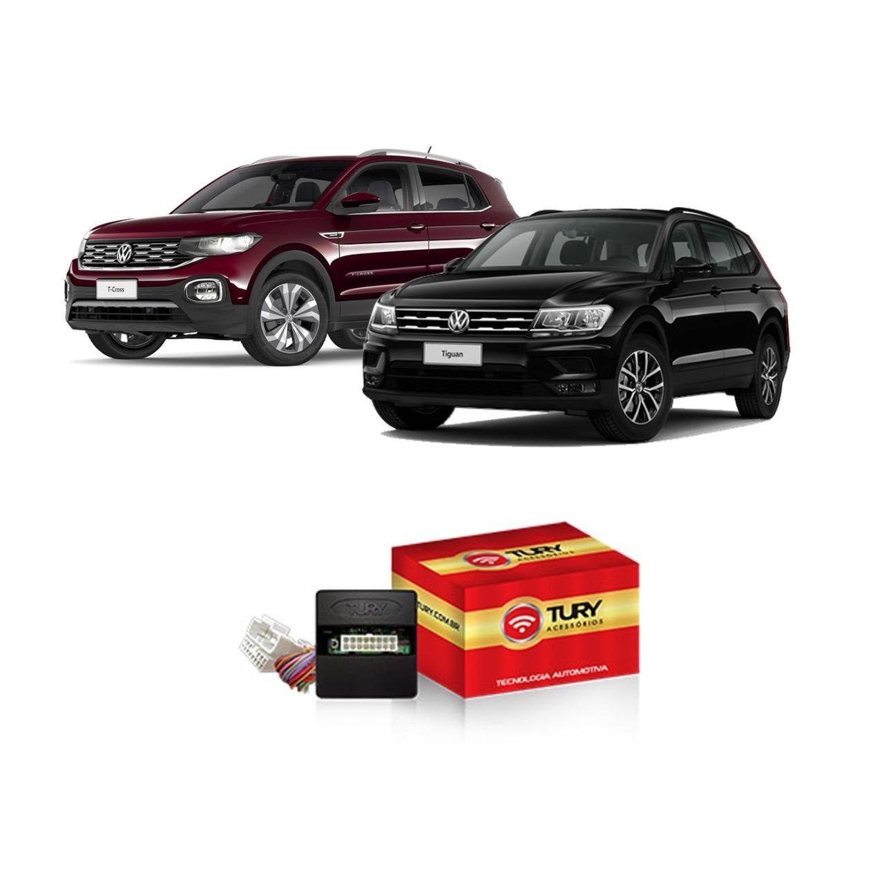 Módulo Subida de Vidro Retrovisor Teto Solar Volkswagen Tiguan Audi  PRO3.1FB