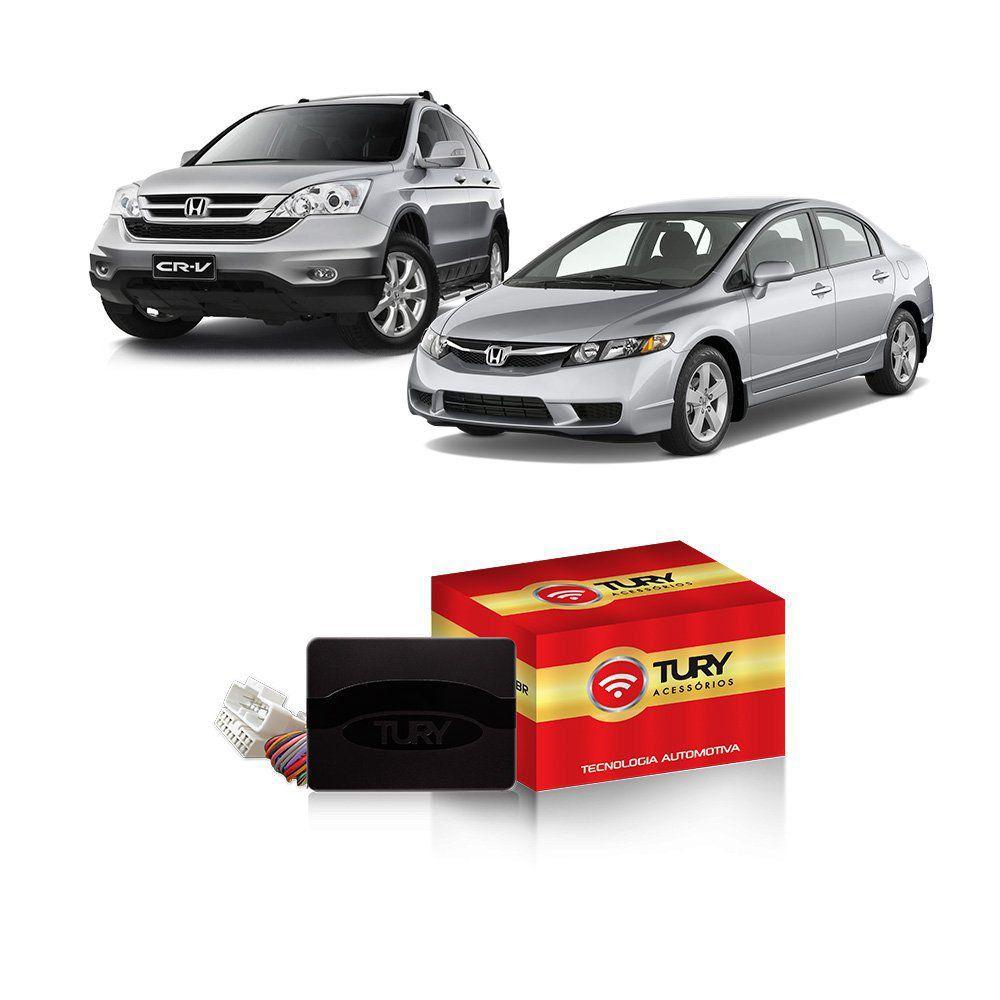 Módulo Subida Vidro Antiesmagamento Civic e CR-V até 2011 PRO 4.23 A