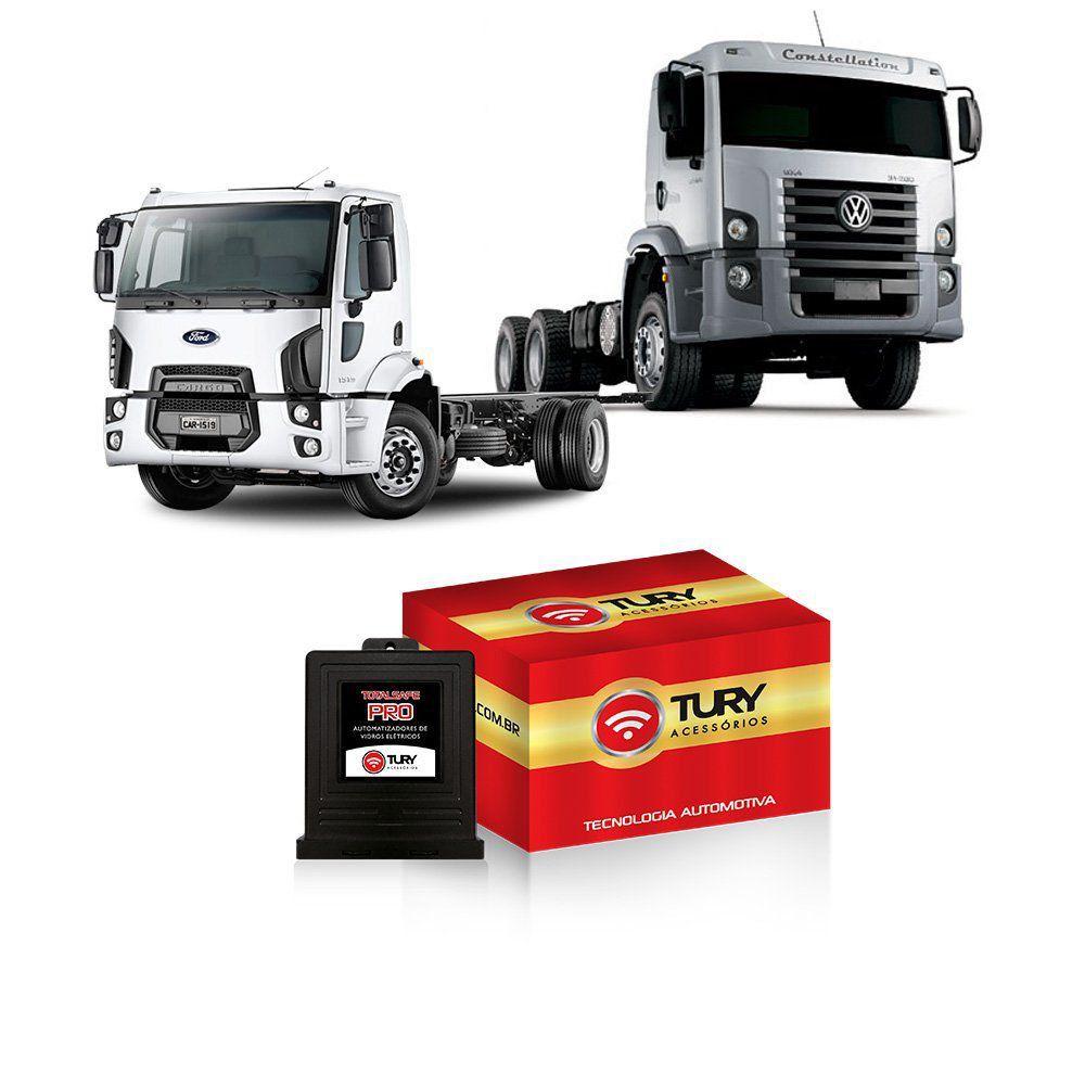Módulo Subida Vidro Antiesmagamento Ford Cargo 2013 em diante TW2TR