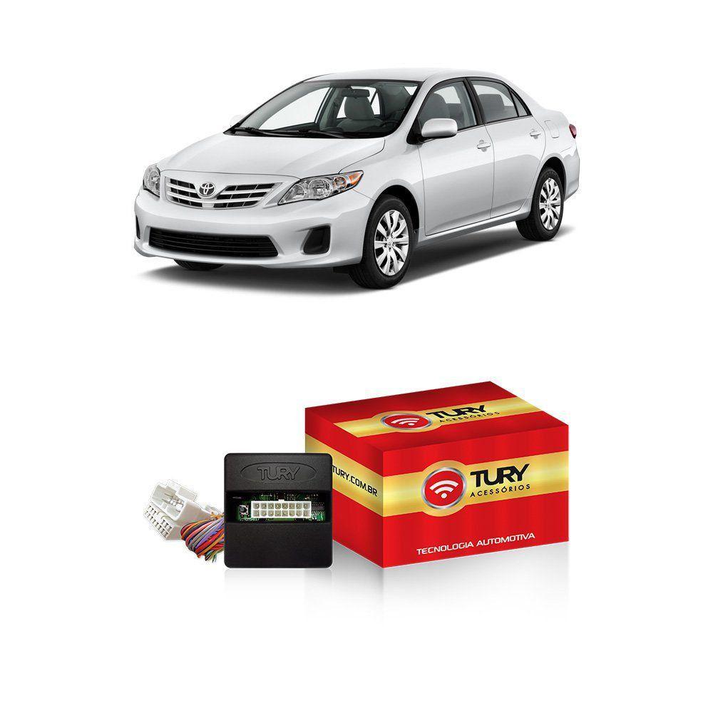 Módulo Subida Vidro + Tilt-Down + Rebatimento Retrovisor Corolla 2009 a 2014 PARK 5.4.3 AG