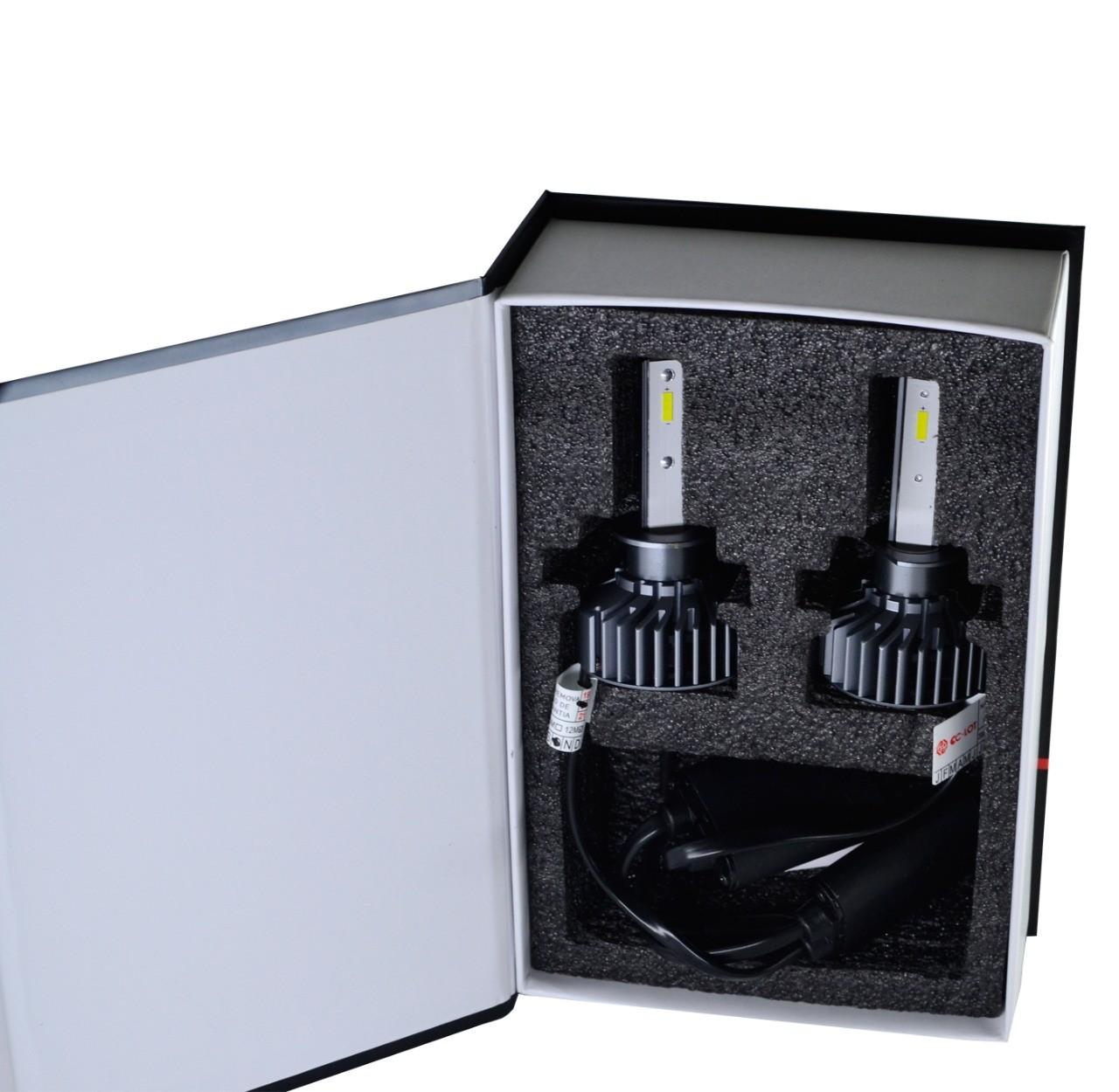Par de Lâmpada Led H3 6000K Com Canceller CC-LOT