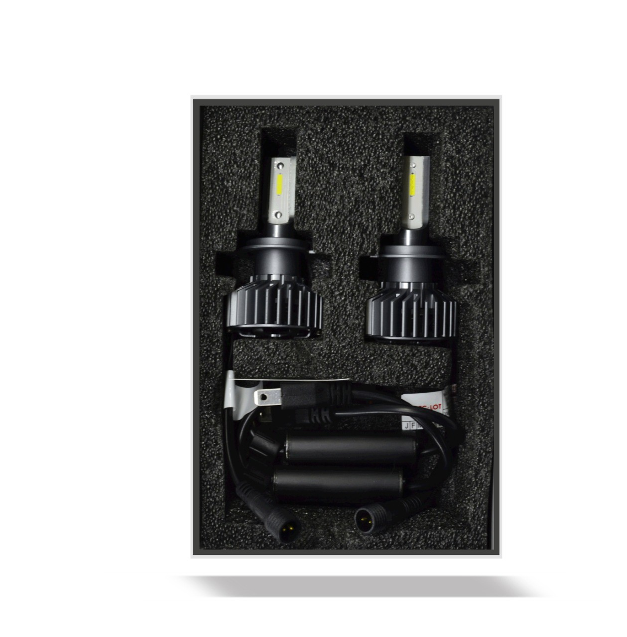 Par de Lâmpada Led H7  6000K Com Canceller CC-LOT