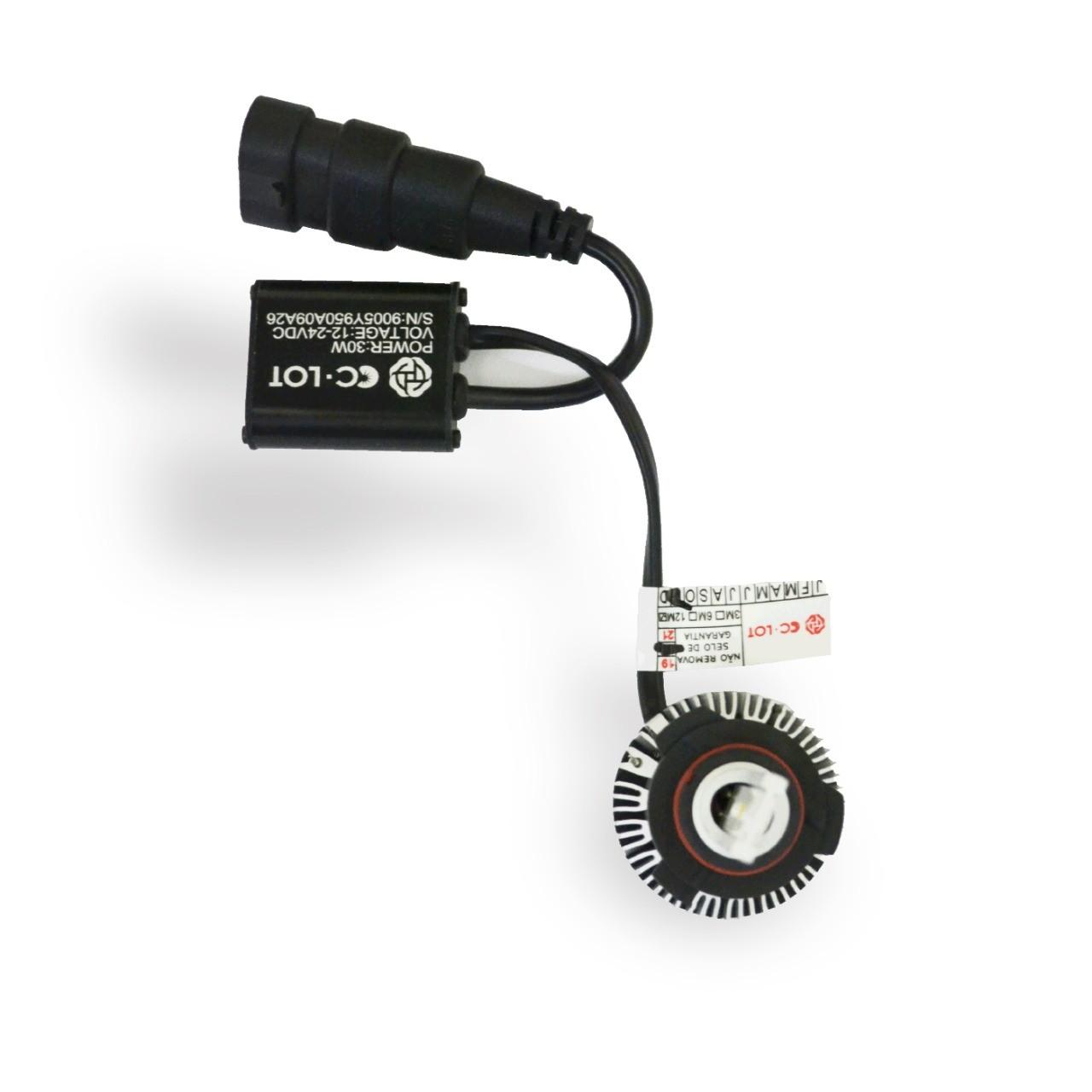 Par de Lâmpada Led HB3 6000K Com Canceller CC-LOT