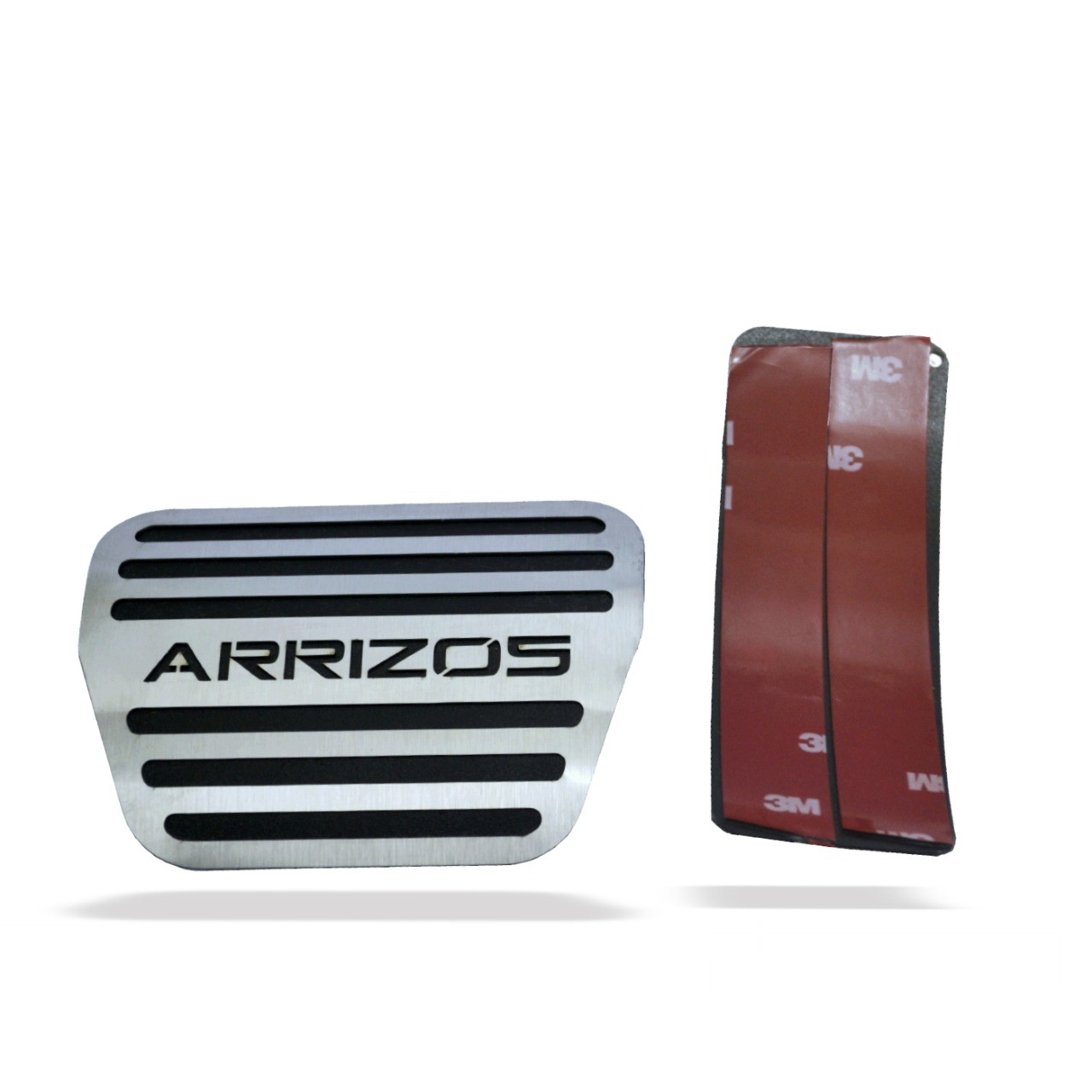 Pedaleira para Arrizo 5 Automatico em Aço Inox