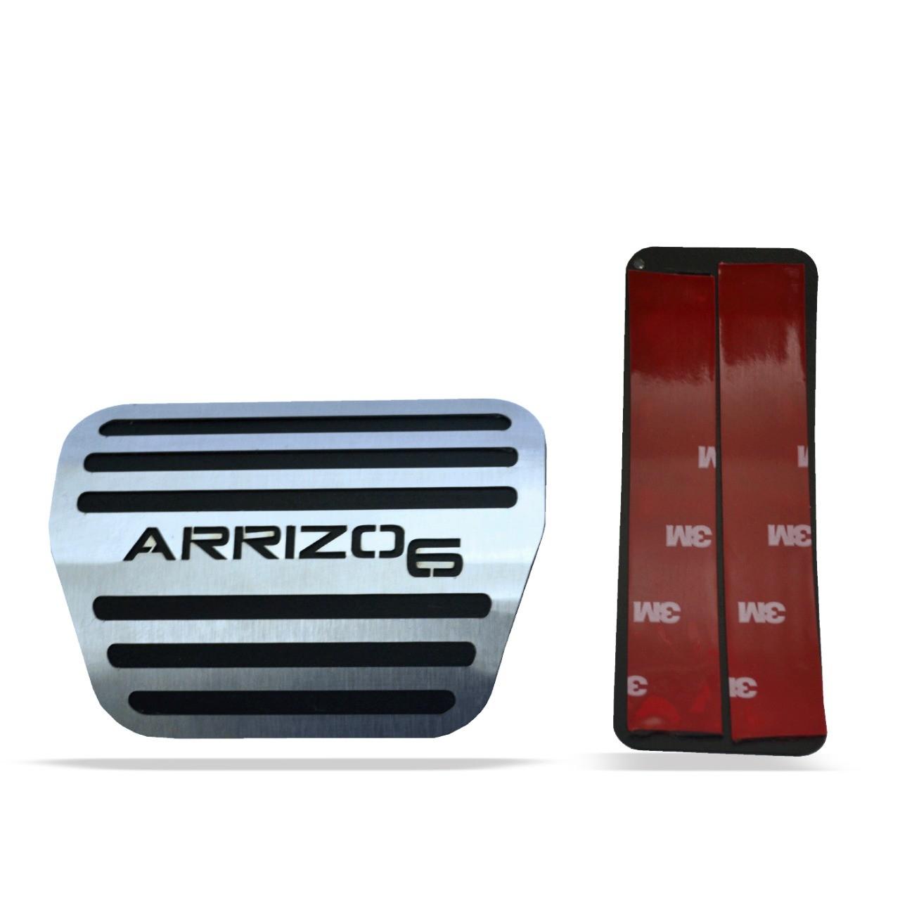 Pedaleira para Arrizo 6 Automático em Aço Inox
