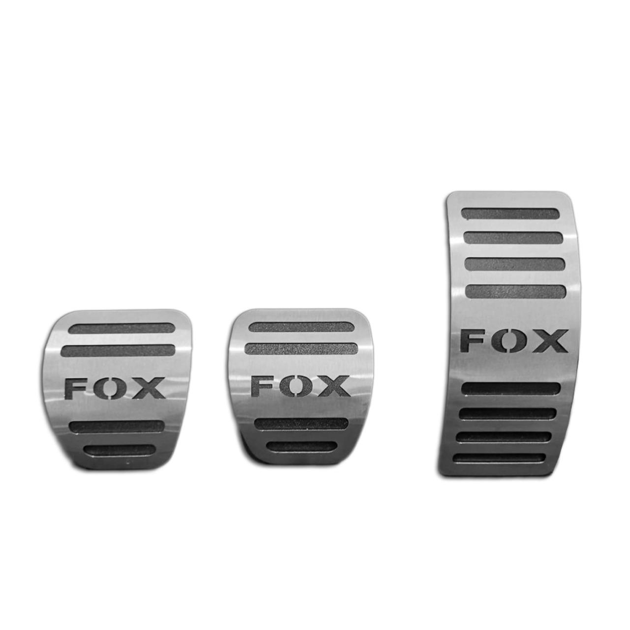 Pedaleira para Fox Manual em Aço Inox