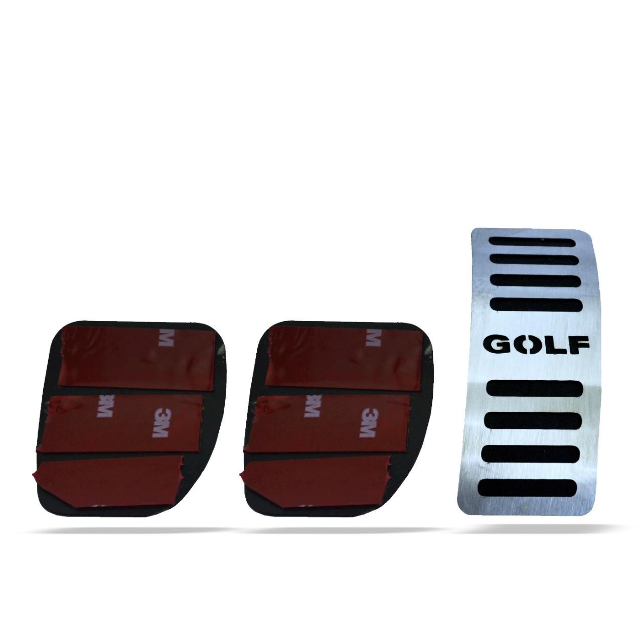 Pedaleira para Golf Manual em Aço Inox