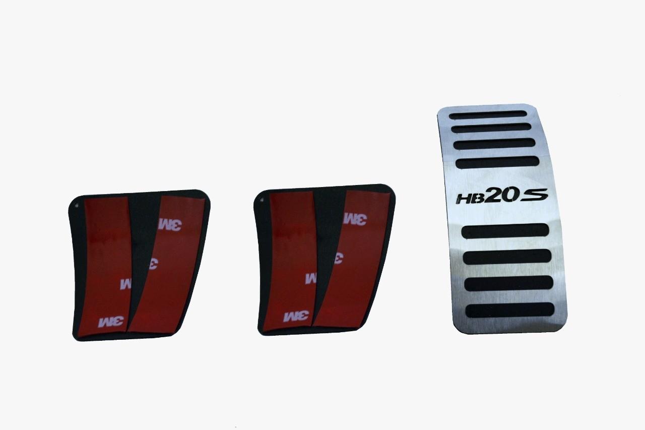 Pedaleira para HB20S Manual em Aço Inox