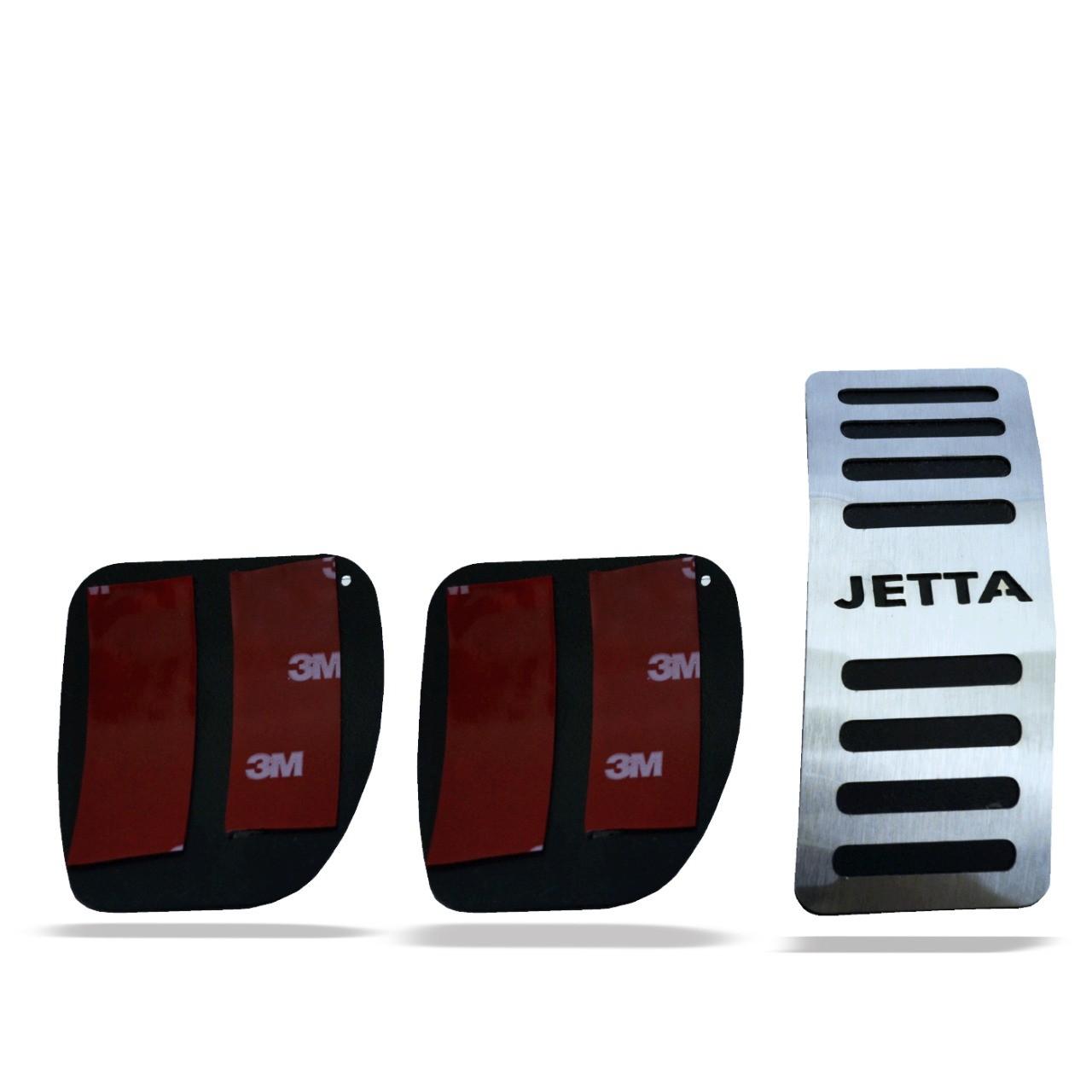 Pedaleira para Jetta Manual em Aço Inox