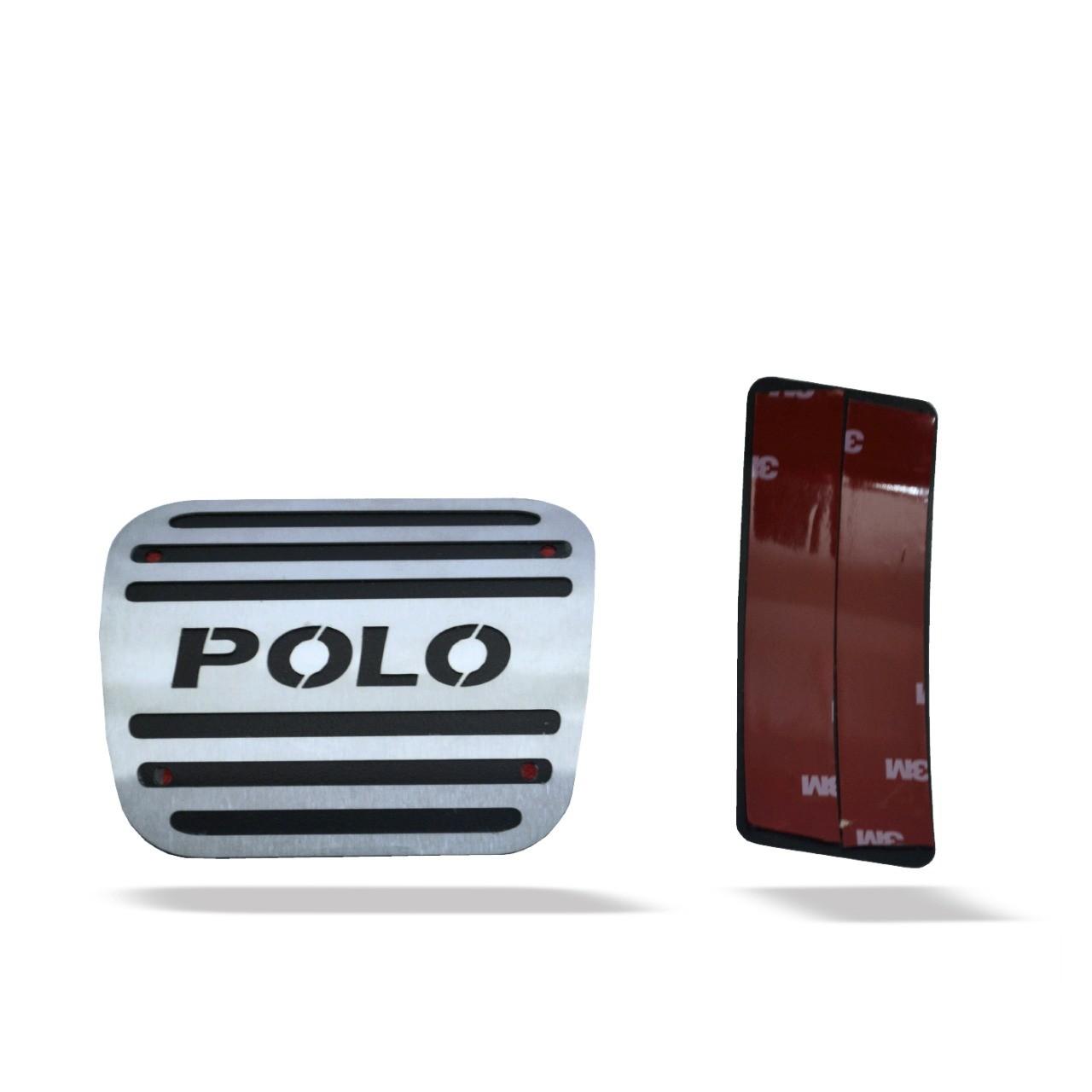 Pedaleira para Polo Automático em Aço Inox